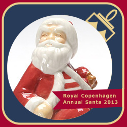 Royal Copenhagen Annual Santa 2013