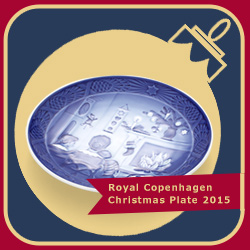 Royal Copenhagen Christmas Plate 2015