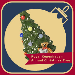Royal Copenhagen Annual Christmas Tree