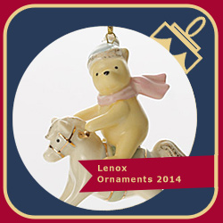 Lenox Ornaments 2014 Disney's Baby's 1st Winnie the Pooh 846961