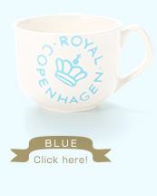 soup cup - blue