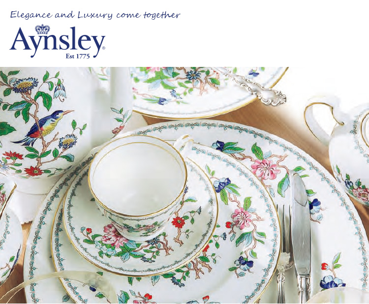 elegance and luxury come together - Aynsley