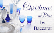 Christmas in Blue by Baccarat