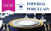 "New Arrival: Rusiian's oldest porcelain manufactory ""Imperial Pocelain"""