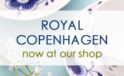 Royal Copenhagen is now at our stores!