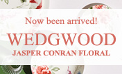 """Jasper Conran Floral"" in Wedgwood is now at our stores!"