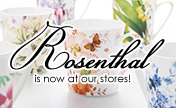 "The European kitchen brand ""Rosenthal"" are now at our stores!"