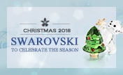 Christmas wonderland with Swarovski's collection!