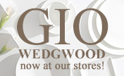 The WEDGWOOD's Gio collection is now at our stores!